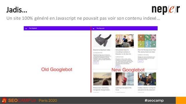 Jadis… Un site 100% généré en Javascript ne pouvait pas voir son contenu indexé…