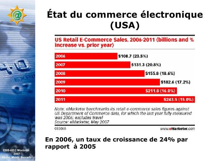 Conférence EBB HEC Montréal (Juin 07) Slide 3