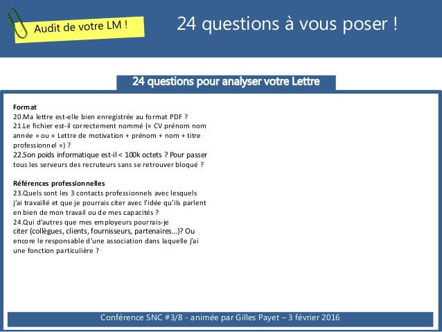 cv et lettre de motivation pdf