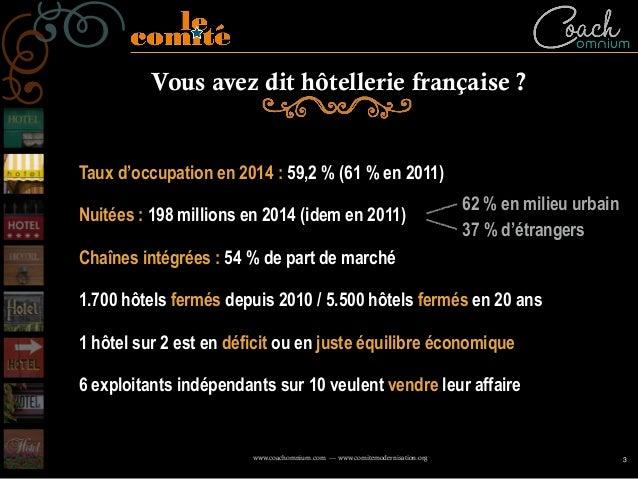 Conférence débat : comment repenser les relations entre les offices de tourisme et les hôteliers. Mark Watkins Slide 3