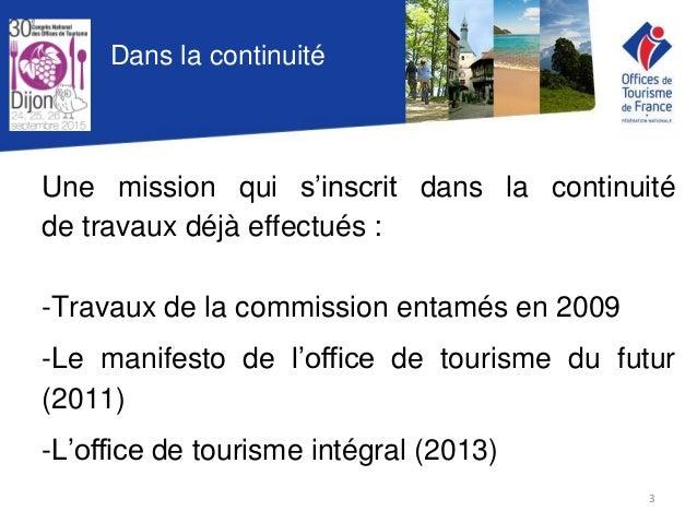 Conf rence d bat prospective office de tourisme 2020 - Mission office de tourisme ...
