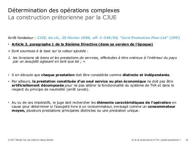 Un an de jurisprudence en tva quelles perspectives for Definition du reglement interieur