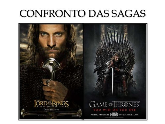 CONFRONTO DAS SAGAS