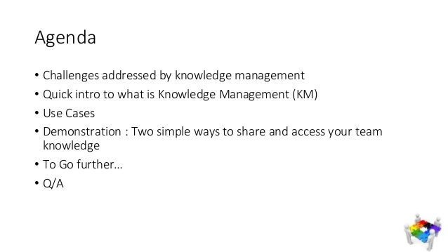 Two simples and quick ways to Save and Share your company Knowledge  Slide 3
