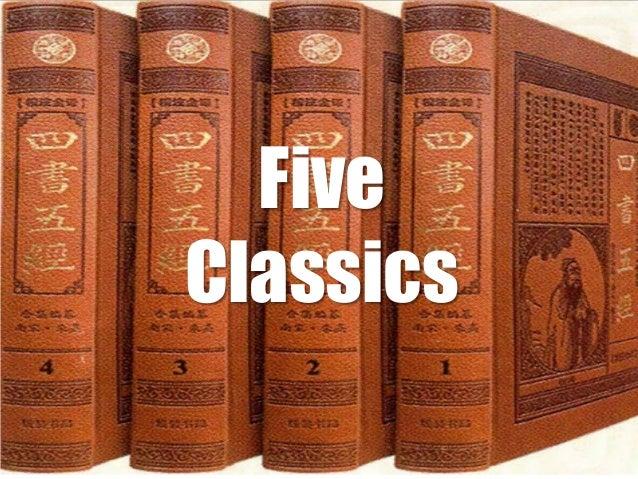 THE FIVE CLASSICS EBOOK