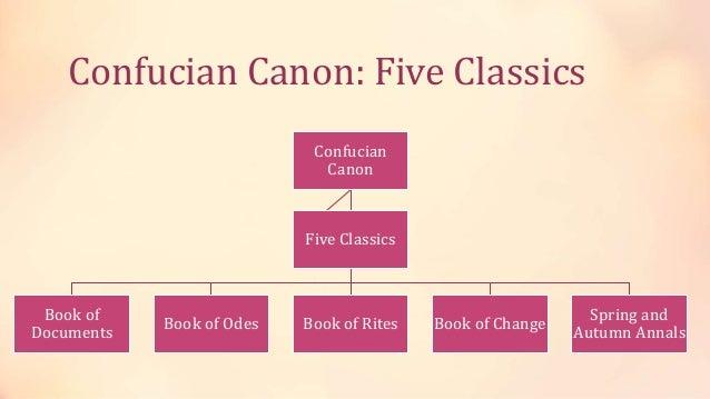 THE FIVE CONFUCIAN CLASSICS PDF