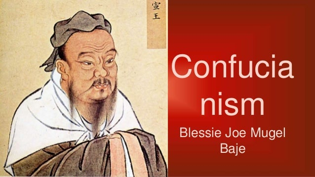 Confucia nism Blessie Joe Mugel Baje