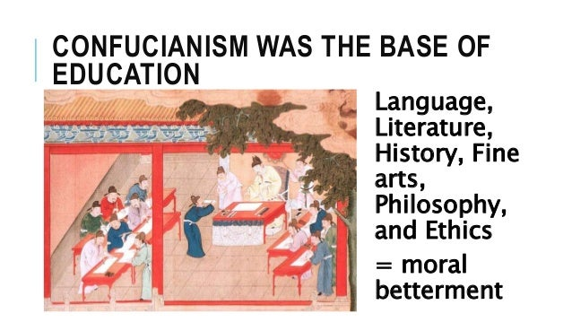 confucianism morality and confucius The relationship between confucianism and confucius himself on the other hand, a religion is defined as (for example) a belief system that includes moral.