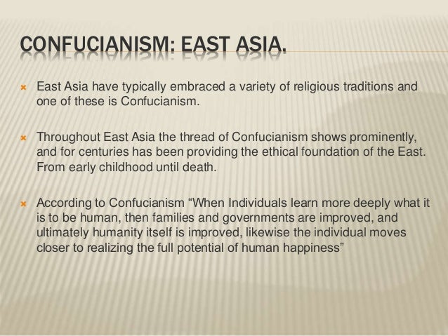 a study on confucianism Because you haven't actually got what confucianism is all about infact to study and not think is a waste to think and not study is dangerous.