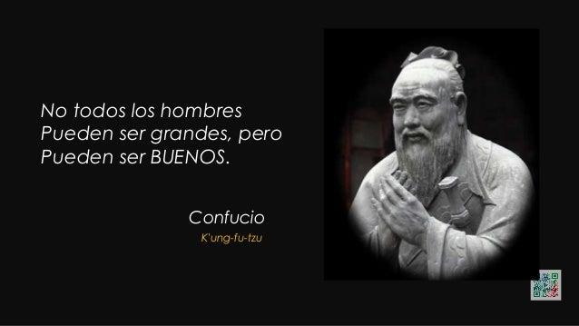"""Confucio """"Cuando el OBJETIVO te parezca DIFÍCIL, no cambies de objetivo; busca un nuevo camino para llegar a él"""". K'ung-fu..."""