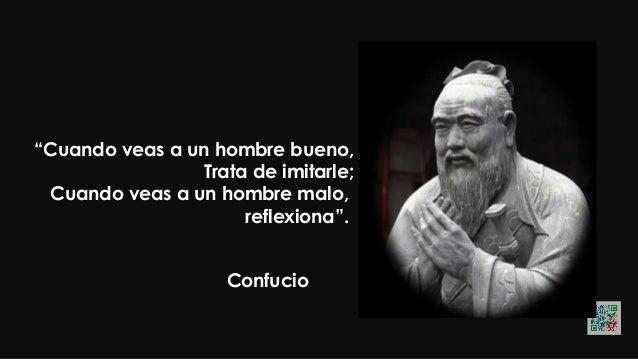 """Confucio """"Es mejor encender una vela que maldecir la oscuridad""""."""
