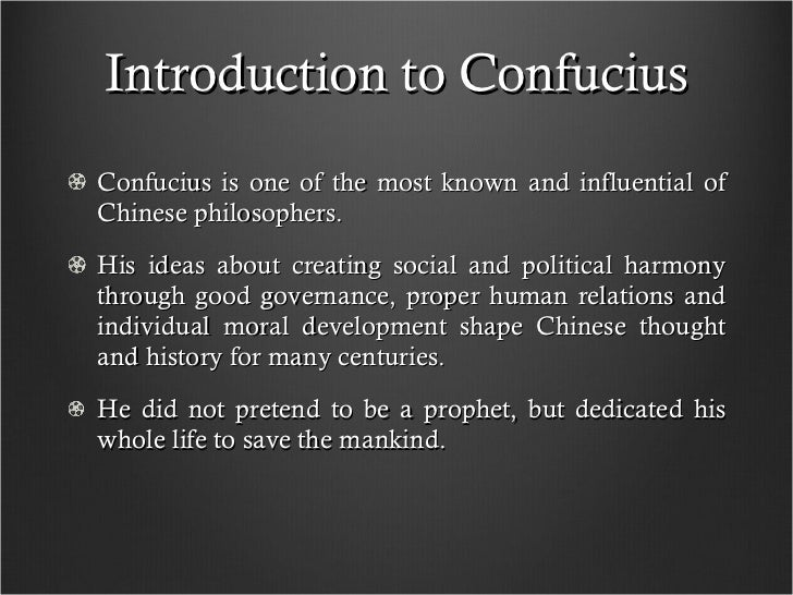 an introduction to the analysis of confucianism in politics Free confucianism papers  - introduction over years of  arose many intellectual thinkers that brought such profound impact in the field of politics,.