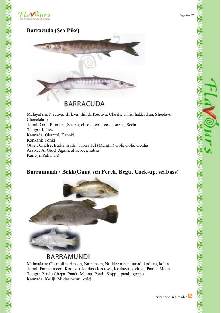 fishes names in malayalam - photo #20
