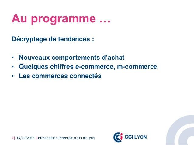 Conf web & creation 2012 CCI de Lyon Slide 2