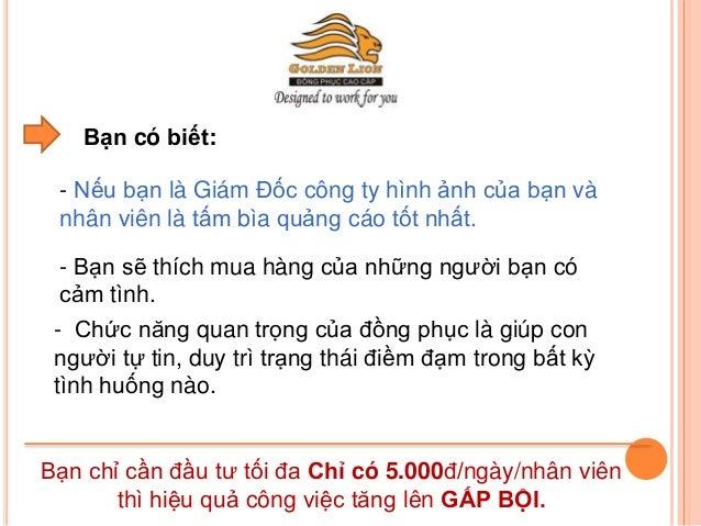 Công ty may đồng phục hàng đầu tại Việt Nam Slide 2