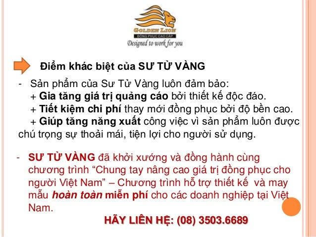 Công ty may đồng phục hàng đầu tại Việt Nam Slide 3