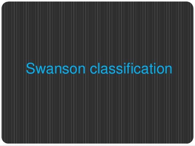 Swanson classification