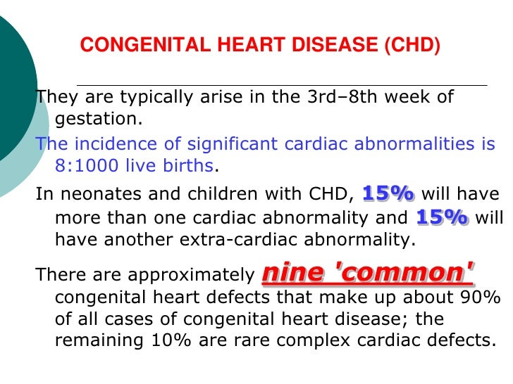 congenital heart disease in children - 728×546