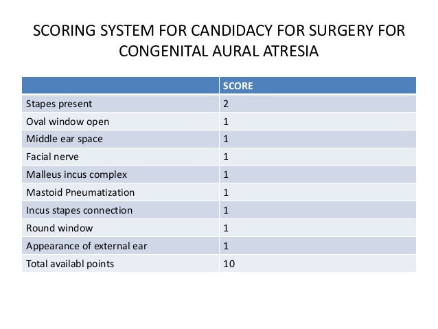 SURGICAL APPROACHES OF ATRESIAPLASTY • Three possible approaches can be followed for congenital aural atresia repair. They...