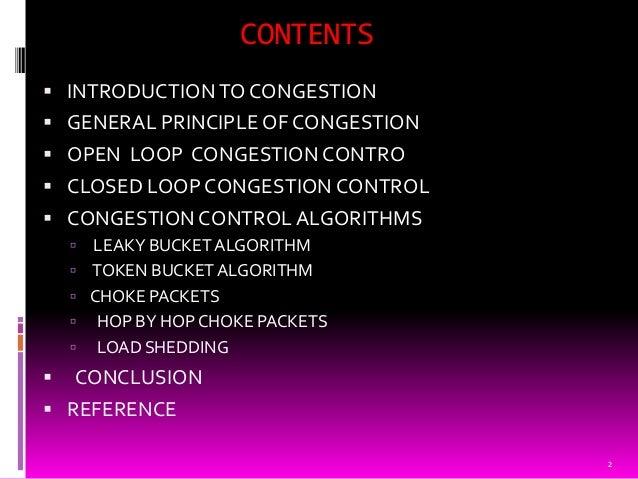 Congestion on computer network Slide 2