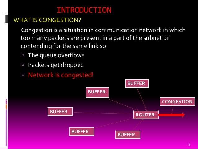 Congestion on computer network Slide 3