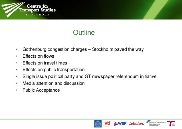 Congestion pricing in Gothenburg Slide 3