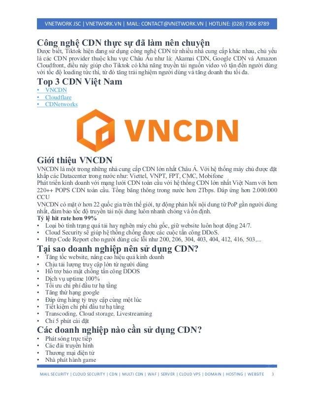 Công nghệ CDN hỗ trợ Tiktok tăng doanh thu kỷ luc Slide 3