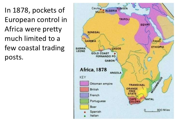 A study of the impact of imperialism in africa