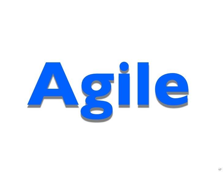 Agile        17