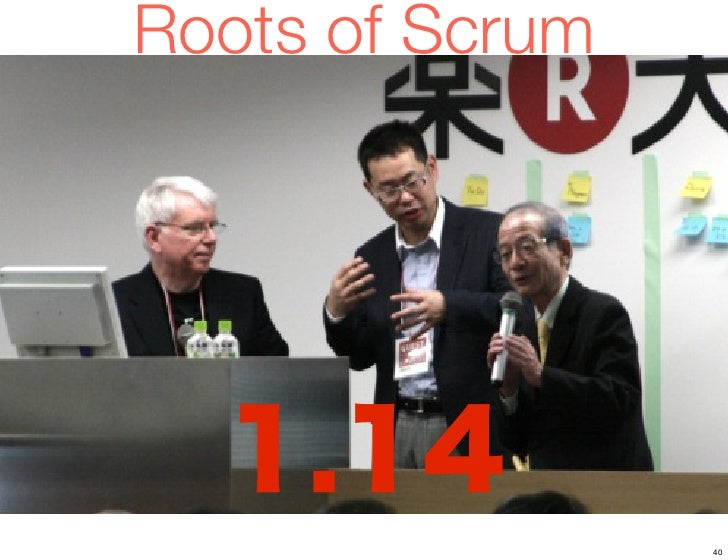 Roots of Scrum                 40