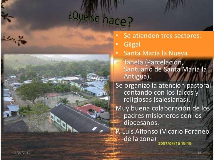 GILGAL - Chocó<br />14/07/2011<br />11<br />