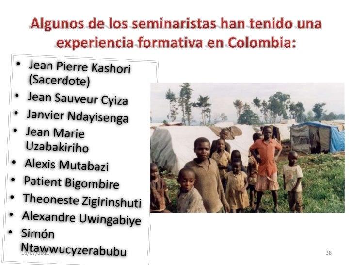 En el año 1998, cuando nació la región de Rwanda-Burundi, quien desempeñó la labor de superior regional fue el P. Juan Ávi...