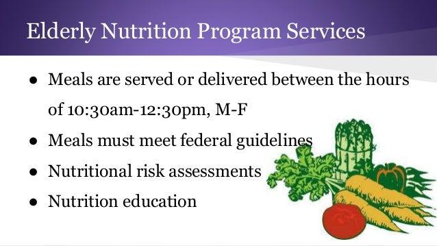 nutrition and feeding program