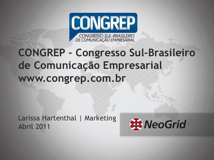 CONGREP – congresso sul brasileiro de comunicação empresarial