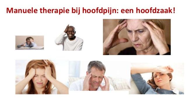 Manuele therapie bij hoofdpijn: een hoofdzaak!  Slide 2