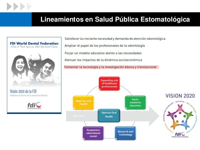 Lineamientos en Salud Pública Estomatológica