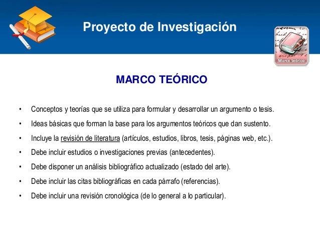 Haga clic para modificar el estilo de título del patrón MARCO TEÓRICO • Conceptos y teorías que se utiliza para formular y...