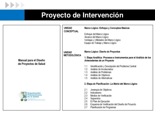 Proyecto de Intervención