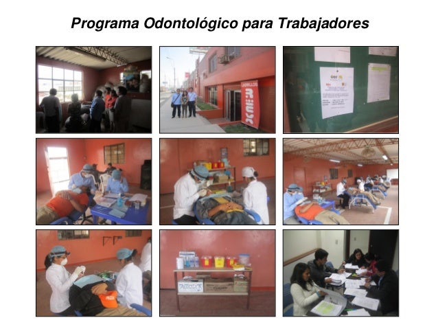 Programa Odontológico para Trabajadores
