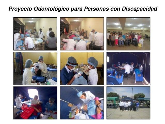 Proyecto Odontológico para Personas con Discapacidad
