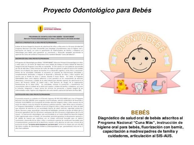 Proyecto Odontológico para Adultos Mayores ADULTOS MAYORES Diagnóstico de salud oral, estado y necesidad de prótesis, cali...