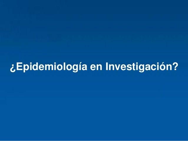 Epidemiología Oral