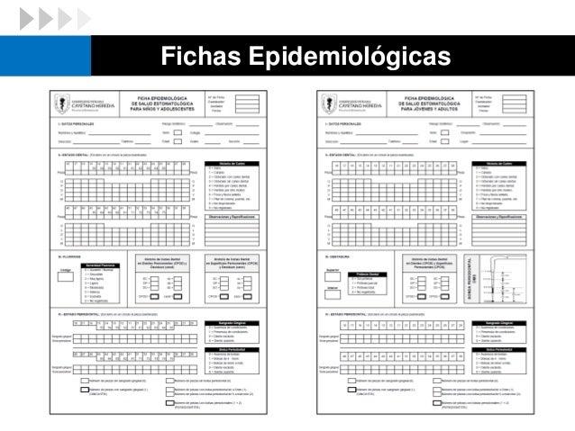 Fichas Epidemiológicas