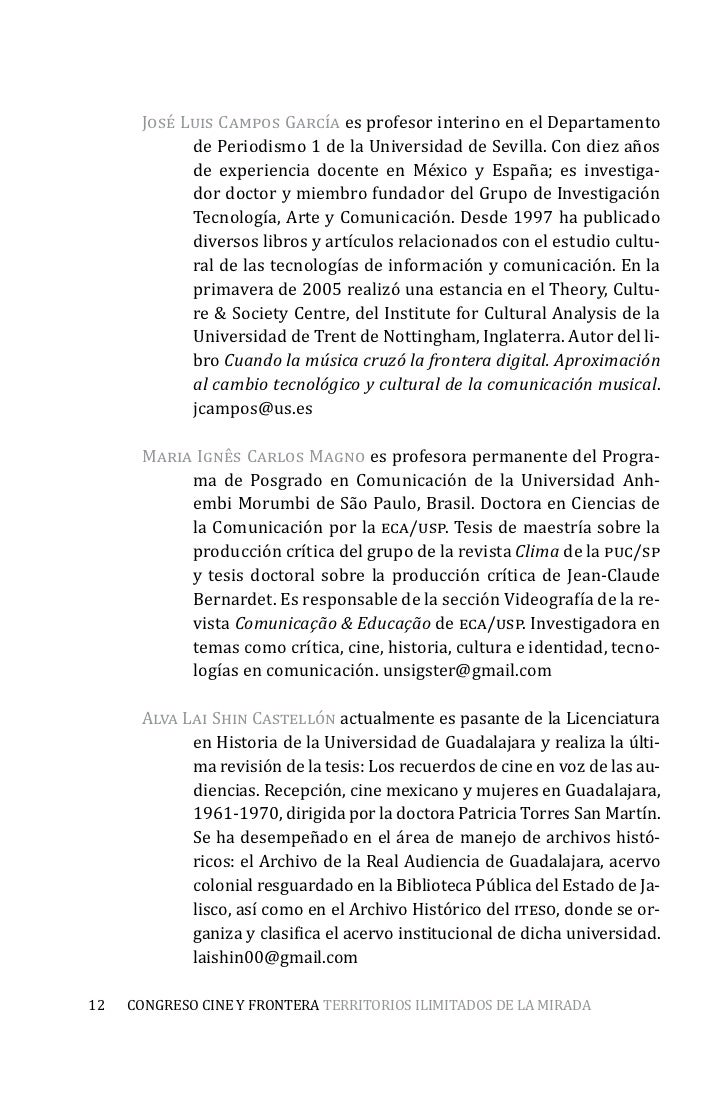 Magnífico Plantilla De Curriculum De Cineasta Modelo - Ejemplo De ...