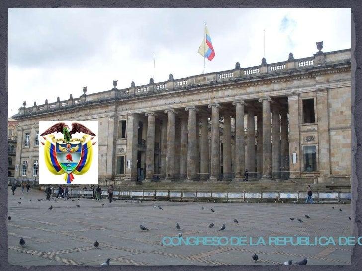 CONGRESO DE LA REPÚBLICA DE COLOMBIA (Bogotá 2009)