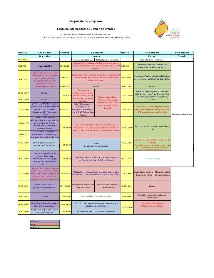 Propuestadeprograma                                                CongresoInternacionaldeGestióndeEventos         ...