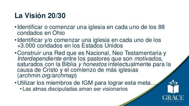 La Visión de Dios 20/30 43.000 88 3.000 6 194 2030
