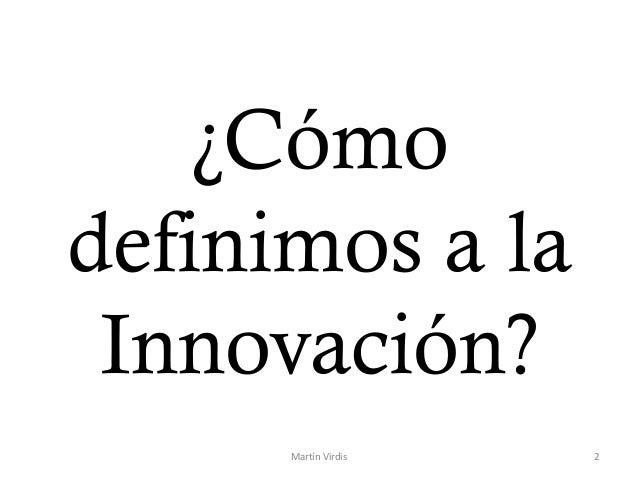 Innovación en PyMES: Definiciones e Instrumentos en Argentina