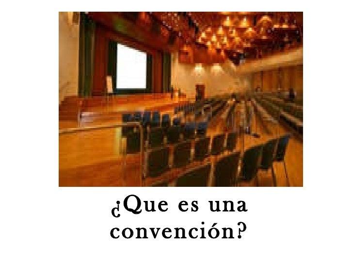 Congresos y convenciones Slide 2