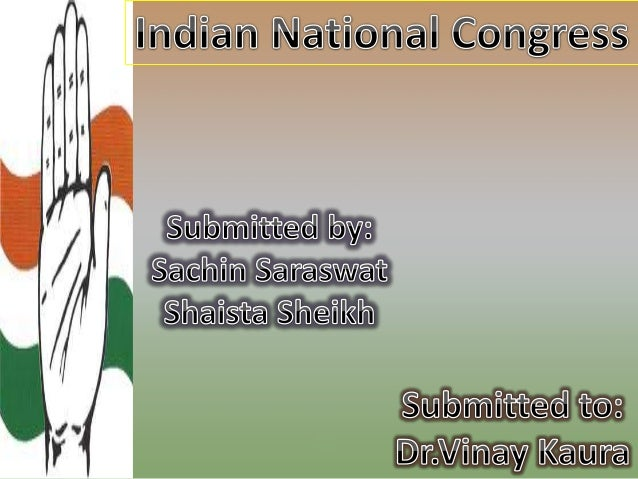 Indian National Congress, Congress-I (also known as the Congress Party and abbreviated INC) is a major political party in ...